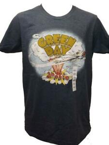 """New Green Day """"Dookie"""" Mens Sizes L-XL Blue Concert Band Shirt $20"""