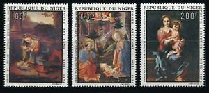 Niger: 1974 Classic Christmas Paintings Airmails (C245-C247) MNH