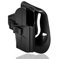 """Tactical Holster Fits S&W M&P Shield 9mm/ .40 Smith and Wesson MP 3.1"""" Paddle"""