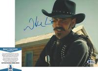 WILLIE WATSON SIGNED 'THE BALLAD OF BUSTER SCRUGGS' 8x10 PHOTO C BECKETT BAS COA