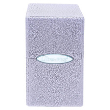 ULTRA PRO Deck Box Satin Tower Ivory Crackle