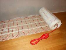 (15,53 EUR/m2) 4 m² - 230V Elektrische Fußbodenheizung Dünnbettheizung TWIN 150