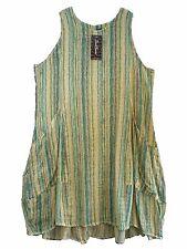 Ärmellose Damenkleider aus Baumwolle in Übergröße
