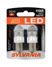 Sylvania ZEVO LED Lamps Bulbs 1156R Red Lens Tail Rear Light Replace Upgrade