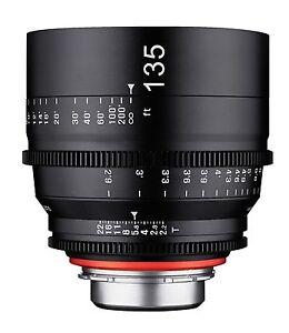 Rokinon XEEN 135mm T2.2 Professional Cine Lens for Nikon Mount - XN135-N