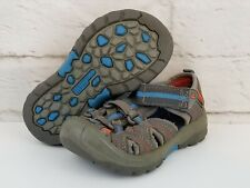 Merrell Toddler Hydro Waterproof Athletic Sandals Size 9 Gray Blue Orange Hike