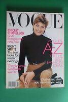VOGUE UK British November 1996 LINDA EVANGELISTA Annie Morton CLIO GOLDSMITH 11
