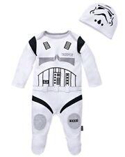 Star Wars Stormtrooper Babygrow Dormir Suit 3-6 Meses Mameluco la fuerza despierta