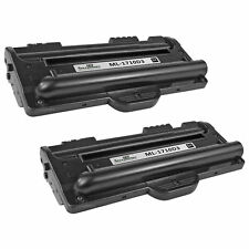2pk Black Laser Toner Cartridge for Samsung ML-1710D3 ML1710 ML-1520 ML-1710