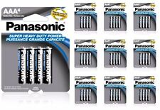 40 Wholesale Panasonic AAA Triple A Batteries heavy Duty Battery 1.5v Bulk Pack