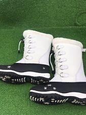 Baffin Emma Snow Boots Sz 6 Tall White Super Clean Warm Comfort Winter