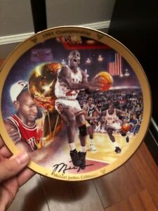"Michael Jordan ""1991 Championship"" Collector's Plate"