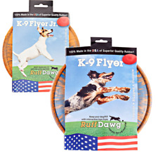 Ruff Dawg K9 Flyer/K9 Flyer Junior Dog Toy (Assorted Colors)