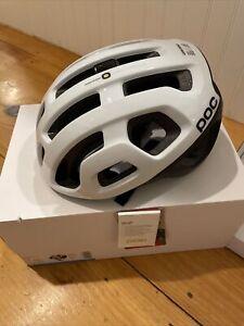POC Octal X Spin Helmet In Hydrogen White Size Medium - NEW