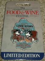 Limited Edition Disney Pin Food & Wine 2019 LE 2000 Mickey and Minnie Mouse