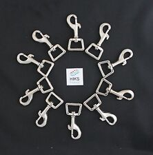 Dog Lead Clips Pack of 10 Heavy Duty 19mm Trigger Hook Clips 63mm