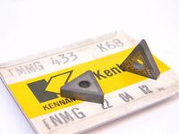 NEW SURPLUS 5PCS.  KENNAMETAL  TNMG 433  GRADE: K68  CARBIDE INSERTS