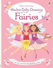 Fairies Sticker Dolly Dressing ~ Usborne 537012 ~ NEW version reusable stickers!