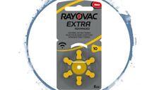 60 x Rayovac Extra Typ 10 AE Hörgerätebatterien Hörgeräte-Batterien PR70