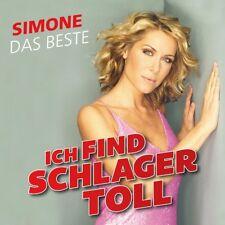 SIMONE - ICH FIND SCHLAGER TOLL-DAS BESTE   CD NEU
