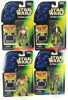 Star Wars Kenner POTF Freeze Frame Tarkin, Lak, Orrimaarko, Bespin Han Solo