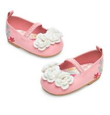 Disney Store Sleeping Beauty Baby Shoes Size 0-6 Months Toddler Aurora Gift NEW