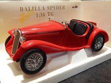 1/16 FIAT BALILLA SPYDER 1934 TONKA POLISTIL RARE CLASSIC MODEL CAR RETRO 1/18