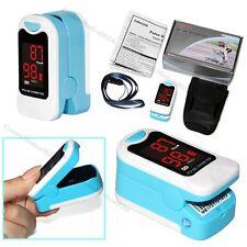 Fingertip Pulse Oximeter Blood Oxygen SpO2 PR Monitor CMS50M LED OXI Meter+Pouch