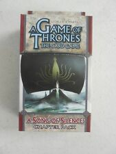 Game of Thrones LCG A SONG OF SILENCE Chapter Pack NEW & SEALED