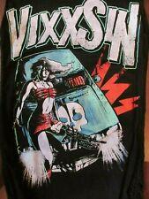 BNWT VIXXSIN TERROR PROOF DRESS LONG TOP  PUNK ROCK N ROLL BIKER SIZE S , M, L
