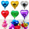 5/10X 10'' Heart Foil Helium Balloons Wedding Party Engagement Birthday Decor