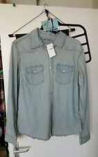 Womens Gap Denim Shirt Size L