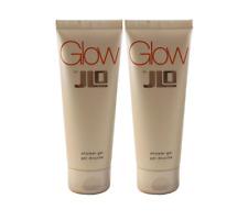 2X Glow By Jennifer Lopez J/lo Women Shower Gel ( Wash ) 2.5 oz 75 ml New tube