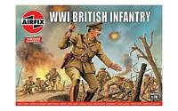 Airfix 00727V WWI British Army Infantry 1/72 Scale Plastic Figures