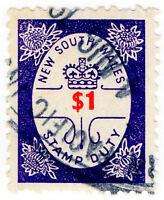 (I.B) Australia - NSW Revenue : Stamp Duty $1
