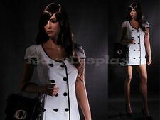 Fiberglass Female Manequin Mannequin Display Dress Form #MZ-LISA7+FREE WIG