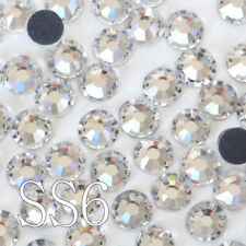 1440pcs Good quality ss6 Crystal Clear DMC Mini Flatback Iron On Hot Fix Rhinest