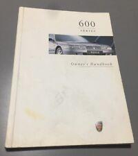 #25 ROVER 600 OWNERS MANUAL DRIVERS HANDBOOK 620 618 623 Ti Si Sli Gsi 1993-1999