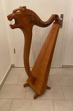 Irische Harfe Traveller Norbert Maier Schwaz Tyrol Elvenking Harps Tierkopf