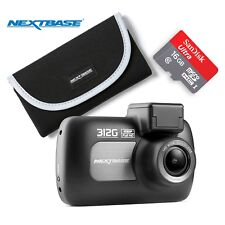 "NEXTBASE 312g Dash Cam 1080p 2.7"" LED Car Recorder Night Vision Bundle"