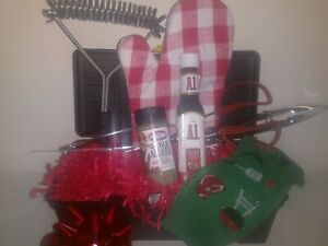 Grilling Set Gift Basket A-1, Kingsford  Hand Crafted NEW