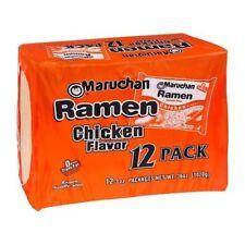 Maruchan Ramen Chicken Flavor Noodle Soup 12 Pack