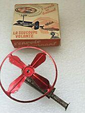 Vintage Jouets MONT-BLANC la soucoupe volante avec sa boite  Made in France