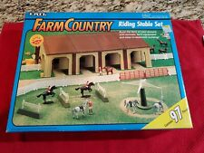 Vintage 1993 Ertl Farm Country Riding Stable Set *BRAND NEW  *NOT OPENED