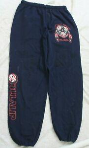 "2X Jerzees Blue Men's Man's Athletic Sweats Pants Cotton Polyester 32"" x 32"" XXL"