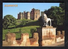c2000 View: Alnwick Castle & Percy Lion