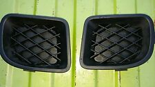 PT Cruiser fog light blanks. Black plastic.
