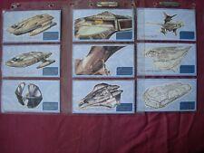 Insurrection Star Trek Next Gen Movie X9 Schematics Chase cards Skybox 1998 VFN