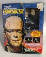 "Universal Monsters Remco Frankenstein in Box 9"" Action Figure Doll Vintage"