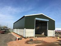 Steel Frame Building 60ft x 40ft x 15ft Including vat